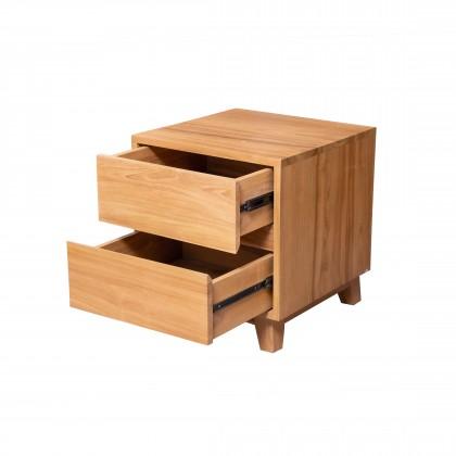 MABEL Solid Wood Bedside Table