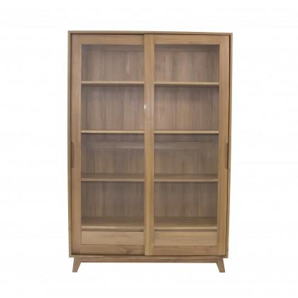 [DISPLAY SET] KYOMI Solid Wood Cabinet
