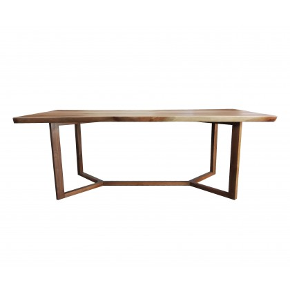 African Mahorgany Solid Dining Table