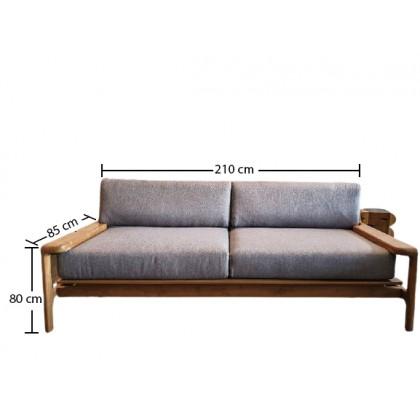 ZASEKI Solid Wood Sofa
