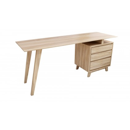 AI'VAR Solid Teak Wood Study Desk