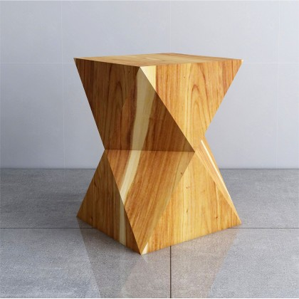 OXY Solid Wood Stool