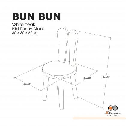 BUN BUN Solid Wood Kid Chair