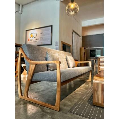 CLARICE Solid Wood Sofa