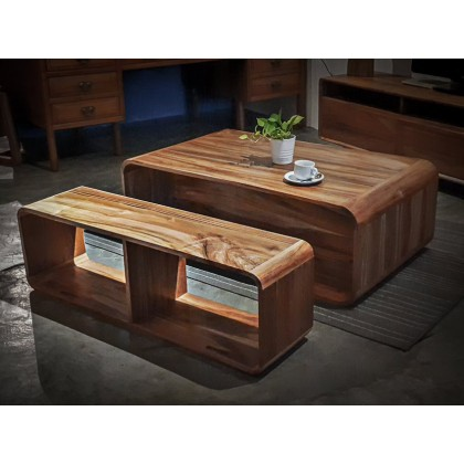 LUCIA Solid Wood Coffee Table