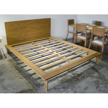 [PRE-ORDER] NAOKO Solid Wood Queen Bed Frame