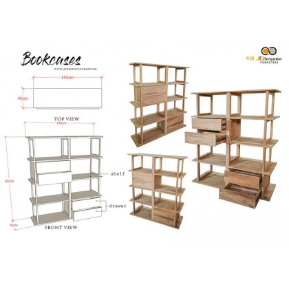 BOOK CASES Custome Made Solid Wood