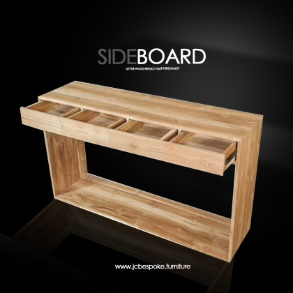 SIDE BOARD Custome Made Solid Wood